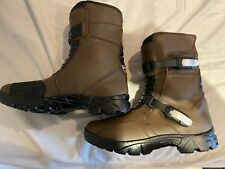 Profirst Brown Adventure Motorcycle Boots Size 10