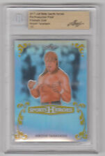 HIROSHI TANAHASHI 2017 Leaf Metal Sports Heroes PRISMATIC GOLD 1 of 1 BGS 1/1