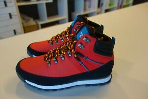 $175 M's North Face Red Hiking Boots Shoes Sz 10.5