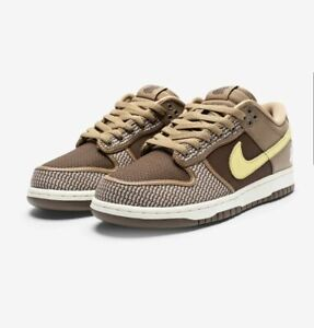 Nike X Undefeated Dunk Low SP - Canteen/Lemonfrost/Palomino Size 10.5