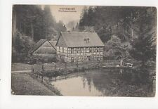Hohegeiss Wolfsbachmuehle Germany Vintage Postcard 315a