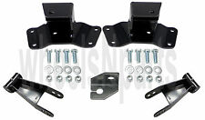 "Drop Shackles & Hangers Kit 1988-1998 Chevy GMC 1500 4"" Lowering Parts"