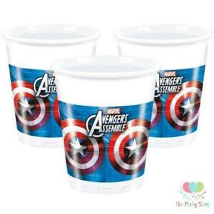 Avengers Assemble 200ml Plastic Cups (32 per Pack ) Free P&P to UK Only