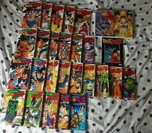 Lot de 28 mangas Dragon Ball Z