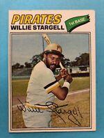 1977 Topps Baseball Card #460 Willie Stargell Pittsburgh Pirates