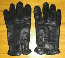 Wilsons black leather Thinsulate line gloves mens Large