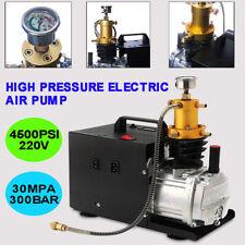 300Bar 30Mpa Compresor de Aire Eléctrico Bomba Alta Presión Air / Water Cooled