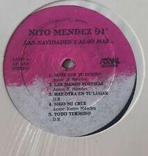 Nito Mendez 91' Las Navidades y Algo Mas Serval Record SEALED LP #4236
