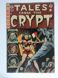 Tales from the Crypt #41, UNRESTORED, very nice