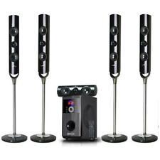 beFree Sound 5.1 Channel Surround Sound Bluetooth Speaker System-OPEN BOX