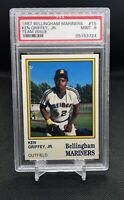 📈 1987 Bellingham Mariners Team Issue Ken Griffey Jr. ROOKIE RC #15 PSA 9 MINT