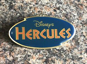 Disney - Hercules Logo Pin With Gold Lightning Border - HTF