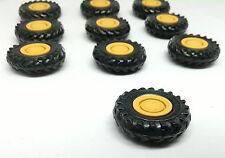je ein Radlader-, Bagger-,Baumaschinen-,Traktor- Reifen mit Felge,42 mm aussen!