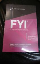 FYI:For Your Improvement - Competencies Development Guide, 6th Edition Paperback