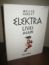 1st Edition ELEKTRA LIVES AGAIN Frank Miller COMIC Lynn Varley FIRST PRINT Art