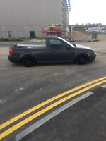 Volkswagen mk4 golf pick up v5 2.3 ex show car modified rotiform not air ride