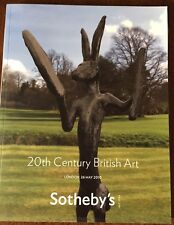 Sotheby's 20th Century British Art Auction Catalogue May 2010