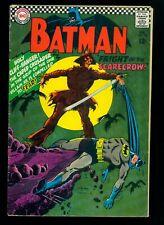 Batman #189 VG 4.0 1st Silver Age Scarecrow!