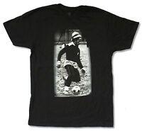 Bob Marley Soccer Black T Shirt New Official Adult Reggae Football