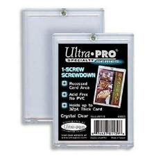 ULTRA PRO 1-SCREW SCREWDOWN 32PT X25 - HOLDER TRADING CARDS 81139 NEW SEALED
