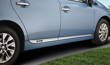 Genuine Toyota Lower Door Moldings for 2012-2015 Toyota Prius Plug-In-New, OEM