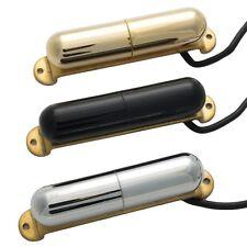Alnico V Lipstick Tube Guitar Pickup for Stratocaster Strat CHROME BLACK or GOLD