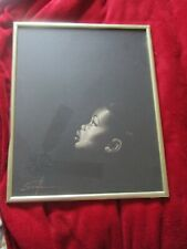 Beautiful Vintage Serole Signed Framed Print Black African American Child Crying