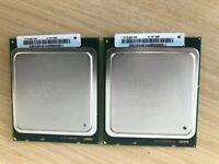 MATCHED PAIR 2 x Intel SR0L1 Xeon E5-2665 2.40GHz CPU Processor (INC VAT)