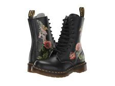 Women's Shoes Dr. Martens 1490 WILD BOTANICALS Leather Boots 25145102 BLACK