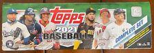 2021 Topps Baseball Series 1 & 2 Gold Star Team Sets w/ Card Saver I