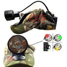 Pro hunter 3C CREE LED coon hunting hog hunting light bump cup light w Free Gift