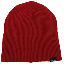 NIXON New Mens Headwear Knit Beanie COMPASS Red