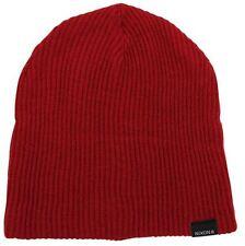 NIXON New Mens Headwear Knit Beanie COMPASS Red