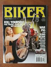 Biker Magazine by Easyriders November 2006 - Discovery Build-Off - Pan/Shovel