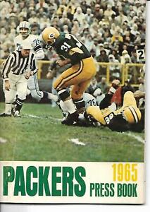 1965 Green Bay Packers Press/Media Guide Pack Champs!!