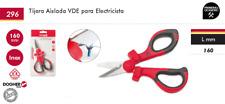 Tijera aislada VDE para electricista 160 mm DOGHER TOOLS, tienda Primeraocasion