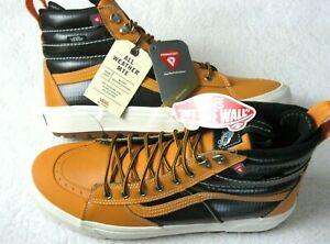 Vans Mens Sk8-Hi Mte 2.0 Dx All Weather Boots Apricot Orange Black Size 9.5 NWT