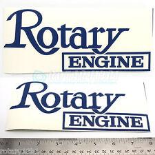 BLUE ROTARY ENGINE DECAL- WANKEL RX7 RX2 RX8 RX7 REPU R100 RE 12A 13B