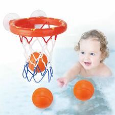 Baby&Toddler Gift Set Bath Kids Toys Basketball Balls & Hoop Boys & Girls Game