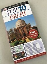 DK Eyewitness Travel Top 10 Delhi Guide & Maps India Red Fort Chandni Chows