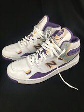a9f79bc12f4eb VTG New Balance 800 James Worthy Lakers Purpl Gold Basketball Shoe BB800PY  Sz 12