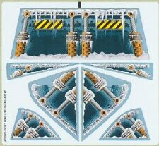 LEGO 4579 Racers: Xalax - Ice Ramp Racers (Sheet 1) - STICKER SHEET