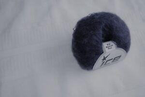 Dark Purple Kid Mohair/Acrylic Yarn #56524