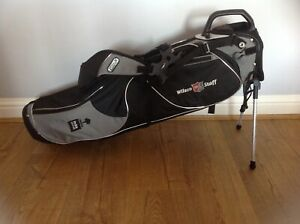New Wilson Staff Golf Pencil/ Summer Bag - With rain cover