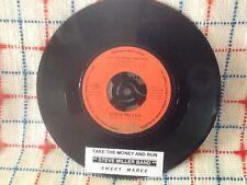 "STEVE MILLER Take the money and run 7"" 45 rpm vinyl record + juke box strip"