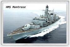 HMS MONTROSE - JUMBO FRIDGE MAGNET - ROYAL NAVY SHIP JANES ARMY AIR FRIGATE