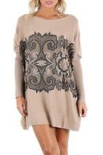 Damen-Pullover & -Strickware aus Viskose Normalgröße im Lagenlook-Stil