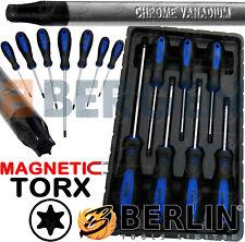 BERGEN Magnetic TORX Screwdriver Set 7pc Star Torks Tool Set T10-T30 Torx Drive
