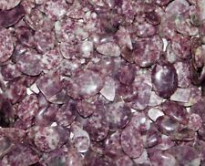 750Cts. Handcrafted Lepidolite Cabochon Loose Gemstone Wholesale ST- 443