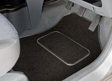 MITSUBISHI OUTLANDER 7 SEAT 2013-ON TAILORED CAR MATS & SILVER STRIPE TRIM 3394